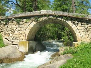 Римскиот мост на реката Бабуба  Фото: Википедија