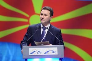 Груевски: Сите кои планираат да седат дома во влечки и да гледаат телевизија, верувајќи дека друг ќе им ја заштита државата, се во заблуда   Фото:commons.wikimedia.org