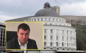 """Sipas drejtorit Aleksander Anastasov, ndërtesa e NP """"Ujësjellësi dhe kanalizimi"""" vetëm në dukje duket luksoze dhe e shtrenjtë. Foto: screenshot."""