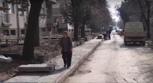 Rikonstruktim i rrugës më të frekuentuar në Probishtip filloi në fund të vitit 2016 Foto: Printscreen.