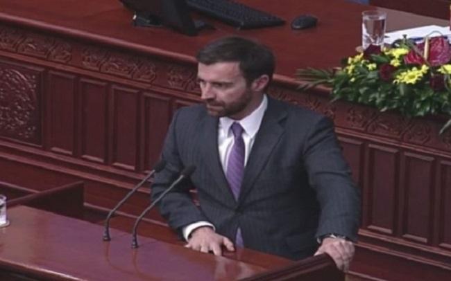 Ilija Dimovski. Photo: VMRO-DPMNE's web site