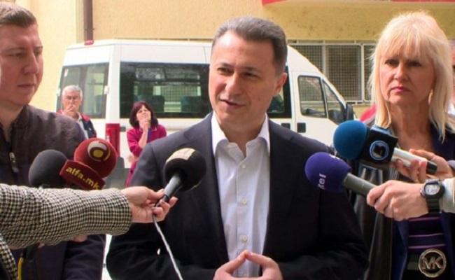 What nation is Gruevski talking about? Photo: VMRO-DPMNE/website