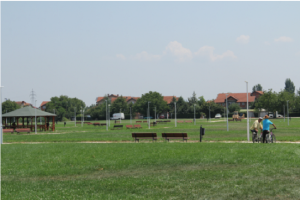 Најголемиот парк во Општина Аеродром на површина од 100.000 квадратни метри Фото: aerodrom.gov.mk