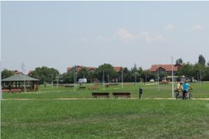 Parku më i madh në Komunën e Aerodromit me sipërfaqe prej 100.000 metra katror Foto: aerodrom.gov.mk