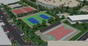 Kështu ishte paraparë qendra sportive në Zllokuqani Foto: Printscreen - Programi zgjedhor i Stevço Jakimovskit