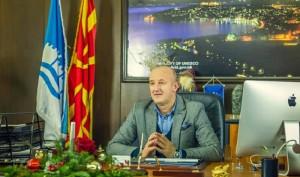 Фотот: Фејсбук - профил на градоначалникот на Орхид, Никола Бакрачески