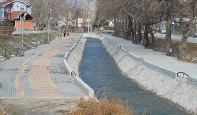 Кеј на реката Луда Мара Фото: Веб-страница на Општина Кавадарци