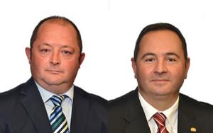 Крсто Мукоски (лево) Сашо Василевски (десно)   Фото: Принтскрин www.sobranie.mk