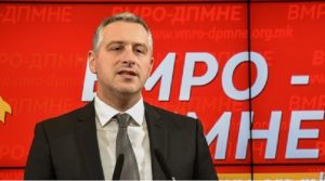 """Улогата на ВМРО-ДПМНЕ во контаминацијата на """"затруеното дрво""""   е несомнено голема  Фото: Веб-страница на ВМРО-ДПМНЕ"""