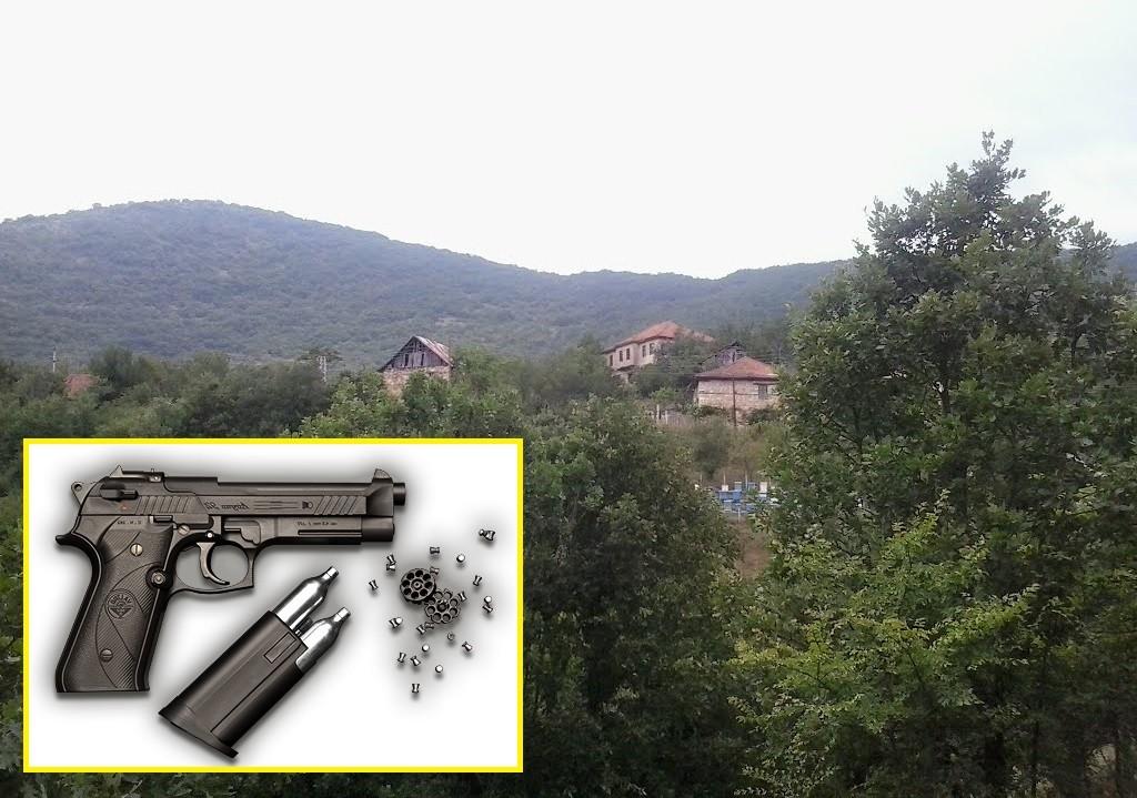 """Село Ижиште - Македонски Брод и воздушен пиштол - и двете """"идеални"""" за атентати. Фото: Панорамио/Јаплакал"""