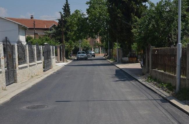 """Rruga """"Vllae"""". Foto: Faqja e Komunës në Facebook"""