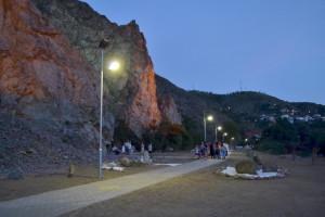 Rrugica e këmbësorëve në dalje të Shtipit. Foto: Komuna e Shtipit