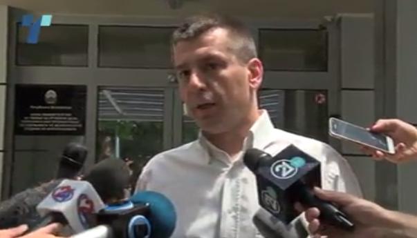 Ivo Kotevski për shpërqendrimin. Foto: screenshot