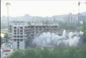 """ТНТ - срушениот објект """"Космос"""""""