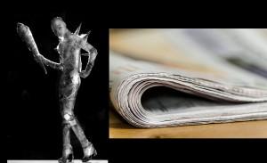 Модел во весник. Фото: Max Pixel/Pixabay