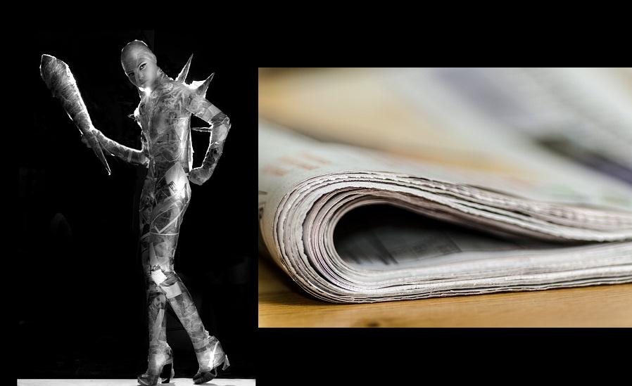 Model në gazeta. Foto: Max Pixel/Pixabay