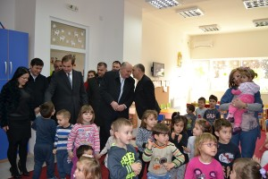 Отворање на градинка во с. Оризари Фото: Општина Кочани