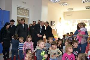 Hapja e kopshtit të fëmijëve në f. Orizari Foto: Komuna e Koçanit.