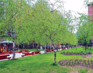Parku i ri në Kapishtec. Foto: Llogaridhënia e Zhernovksit- Qendër ( 2013-2017)
