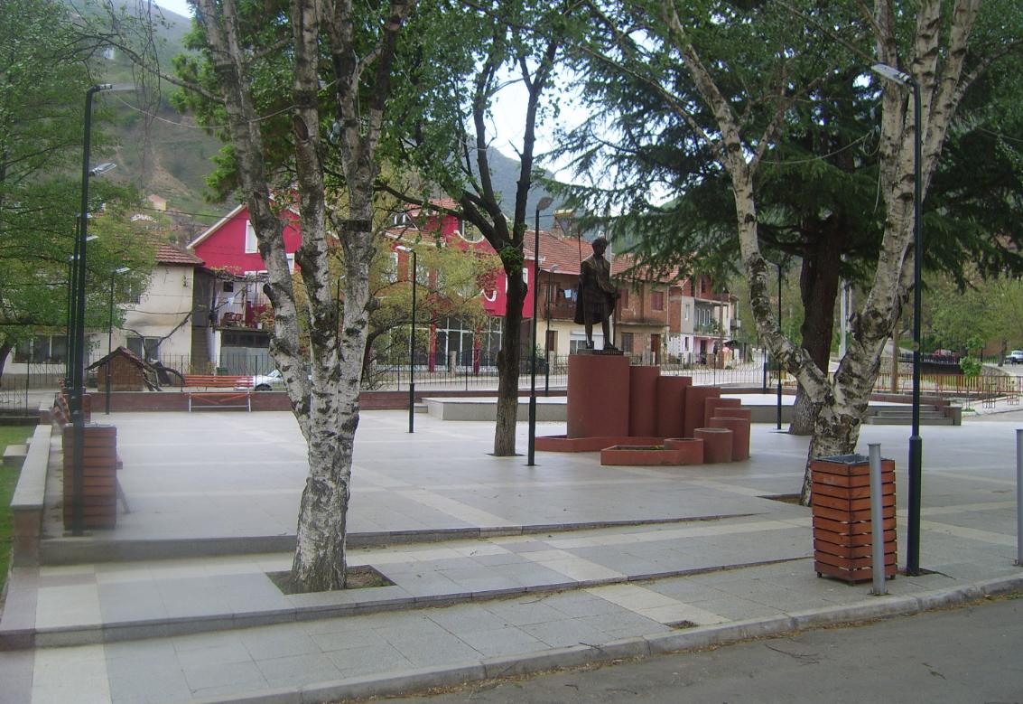 Село Зрновци, плоштад. Фото: општински веб сајт