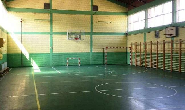 """Salla sportive në SHF """"Gjorgjia Pulevski"""" Foto: Komuna Aerodrom"""