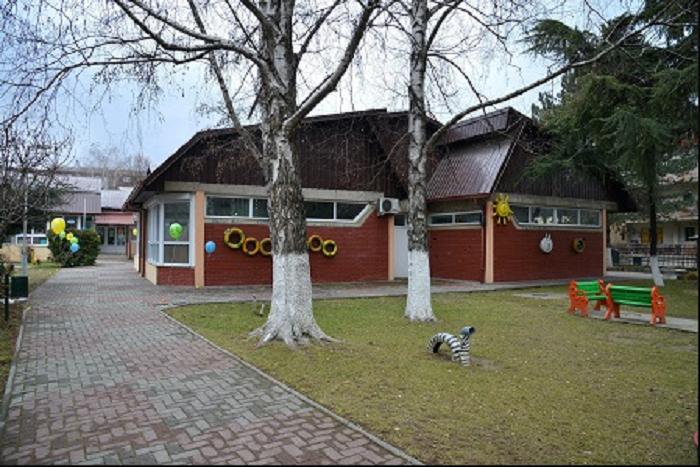 """Kopshti """"Detelinka"""" me çati të re të konstruktuar Foto: Komuna Gjorçe Petrov."""