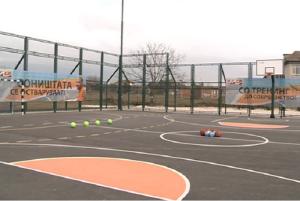 Повеќенаменско игралиште во  Бутел Фото: Општина Бутел