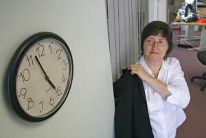 Време за дома. Барем за оние администратицви кои се појавиле на работа. Фото: Alan Cleaver, 2008