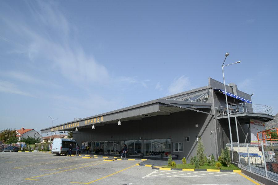 Stacioni i ri i autobusëve në Prilep Foto: Komuna e Prilepit