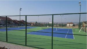 Тениското игралиште во Неготино   Фото: Општина Неготино