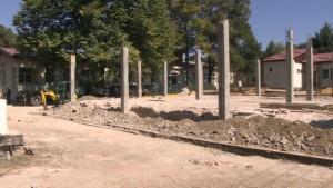 Kopshti i ri ka filluar që të ndërtohet në shtator të vitit 2016. Foto: Komuna e Kavadarit