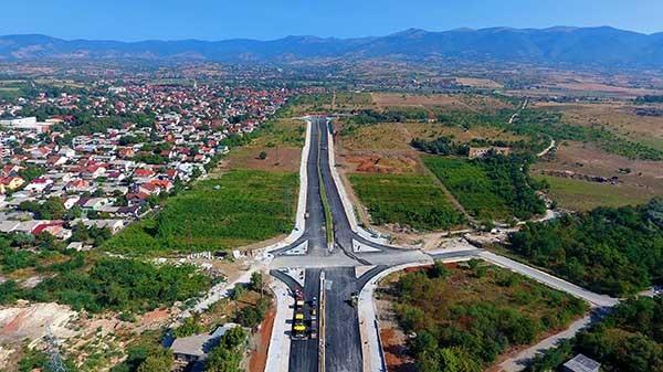 Gjendja e bulevardit në fund të gushtit. Foto: Ueb-portali i Qytetit të Shkupit
