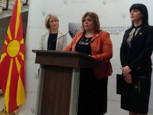 """Drejtorët e kompanive """"Transmet"""", """"SIleks"""" dhe """"Vato"""" DOOEL Studeniçan Shkup, të dyshuar për keqpërdorimin e tenderit të termocentrale në Maqedoni. Foto: Meta"""