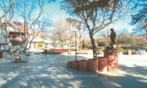 Плоштадот во Зрновци  Фото: Веб-страница  на Општина Зрновци