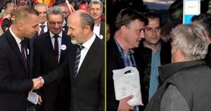 Последните денови од кампањата: Нов мандат за Трајановски или нов градоначалник на Скопје? Фото: ФБ