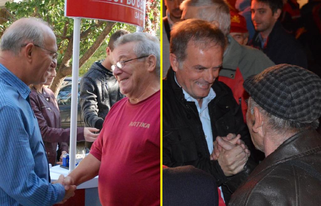 Аце Коцевски и Славко Чадиев: реприза од пред 4 години во Велес