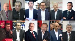 Kryetarët sipërmarrës. Foto: sajte partiake, komunale, Meta