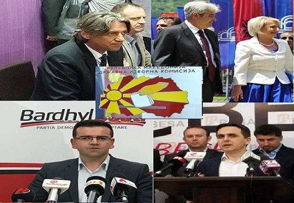 Në bllokun partiak shqiptarë,  gara kryesore do të zhvillohet me 29 tetorë. Foto: printscreen.