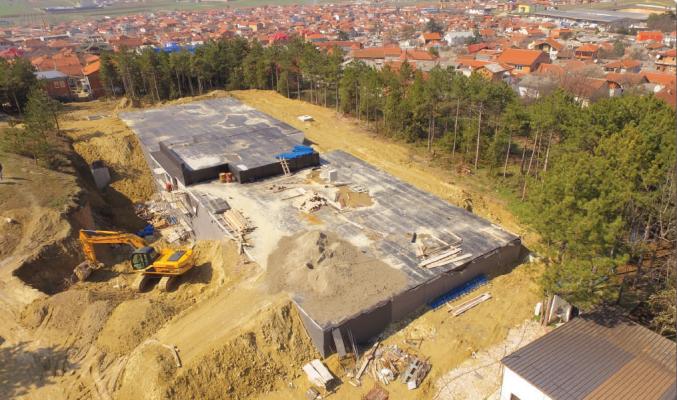 Ndërtimi i ujësjellësit të ri në Shuto Orizare Foto: Qyteti i Shkupit