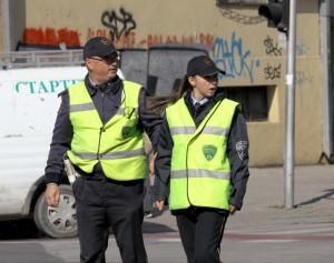 Полицајци на должност. Фото: Мета