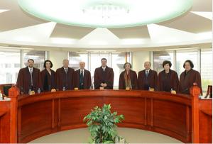 Уставниот суд сега работи со шест судии, на уставните судии Дарлишта,  Старова и Дабер-Дамјановска им истече мандатот Фото: ustavensud.mk