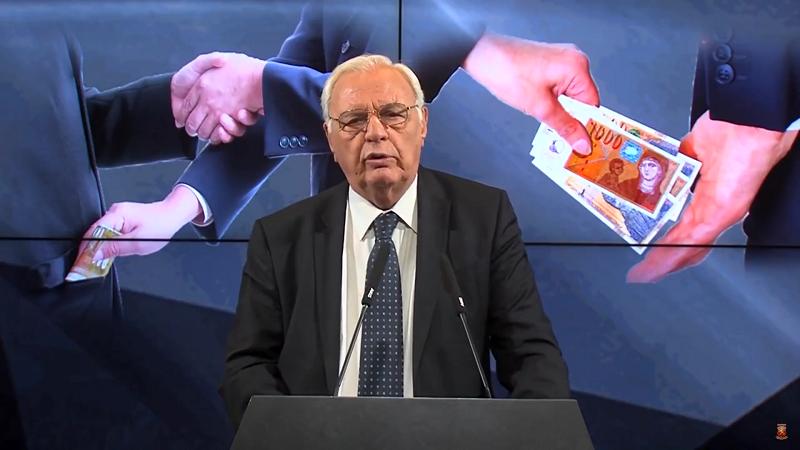 Кога падна рангот на Македонија по прашање на корупцијата, г-дине Маневски? Фото: ВМРО-ДПМНЕ