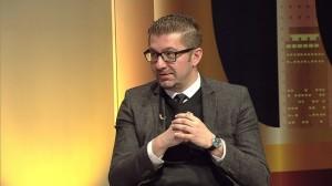 Христијан Мицкоски - што треба да содржи еден партиски статут? Фото: скриншот