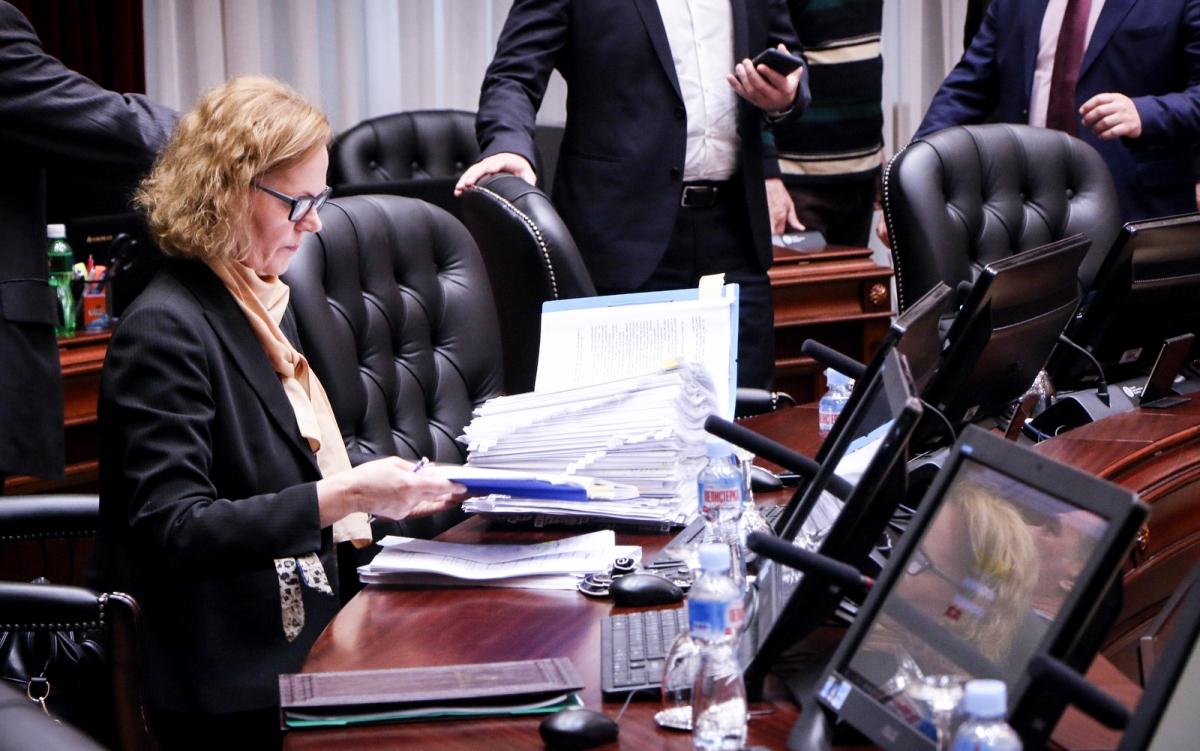 Владата на 20 февруари ги усвои измените на медиумските закони Фото: Влада на РМ
