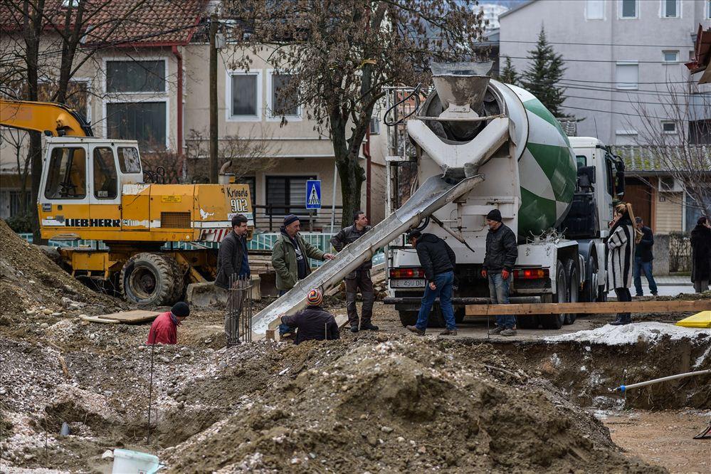 """Почна изградбата на градинката """"Мајски цвет"""". Фото: Општина Карпош"""