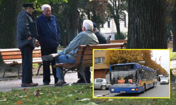 Пензионерите во Прилеп ќе можат да се возат бесплатно во јавниот превоз секој работен ден од 9 до 11 часот  Фото: Принтскрин колаж
