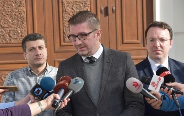 Hristijan Mickoski. Foto: Ueb-faqja e VMRO-DPMNE-së