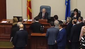 Votimi i Ligjit për përdorim të gjuhëve, hapi dyshime të reja. Foto: printscreen