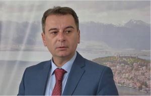 Градоначалникот на Општина Охрид, професор д-р Јован Стојаноски  Фото:  Општина Охрид