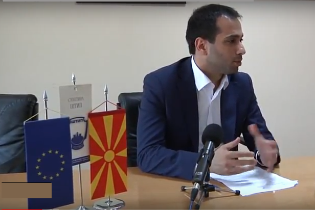 Благој Бочварски, градоначалник на Општина Штип Фото: Принтскрин